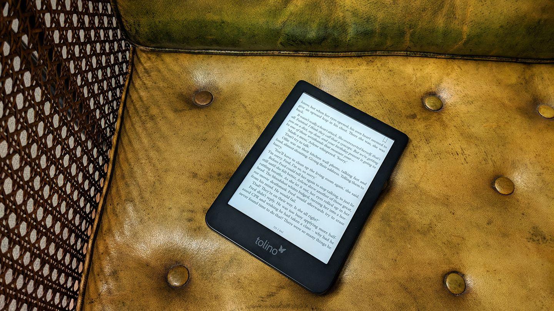 E-Reader: Der neue Tolino Shine 3 hat dem Konkurrenten Kindle vor allem seine smarte Beleuchtung voraus