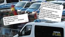 Die Polizei in Sachsen hat nicht nur mit rechtspopulistischen Demonstrationen zu kämpfen