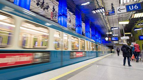 U-Bahn in München