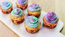 Galaktische Halloween Cupcakes