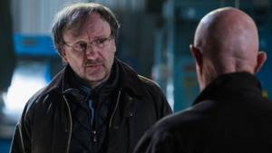"Rainer Bock in ""Better Call Saul"" neben ""Mike"" Jonathan Banks"