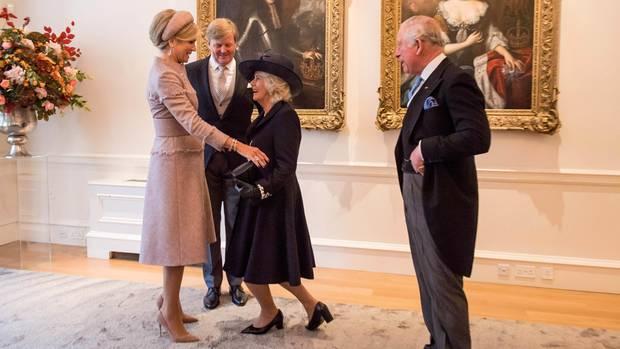Willem-Alexander, Máxima, Camilla, Charles