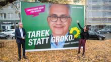 Landtagswahl in Hessen: Die Grünen als Bollwerk gegen die AfD - und die GroKo