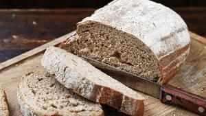Das Innere vom Brot