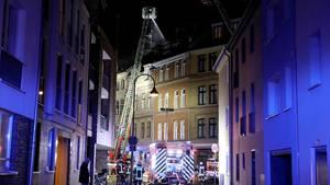 Zwei Tote bei Wohnhausbrand in Köln