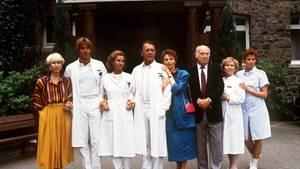 """Das Team der """"Schwarzwaldklinik"""""""