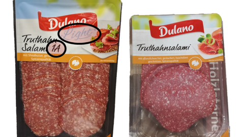 Lidl - Truthahnwurst - Light-Version - Dulano - Verbraucherschutz
