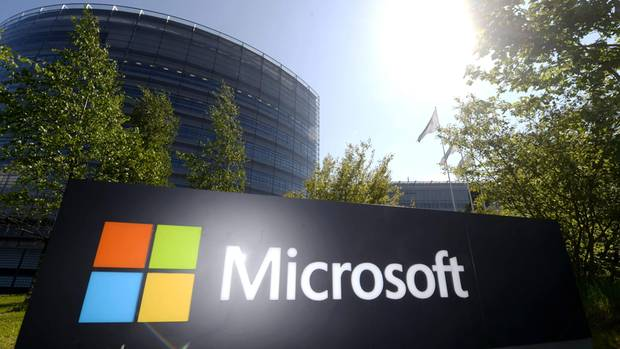Microsoft konnte im vergangenen Quartal mit hohenUmsätzen bei den Anlegern punkten