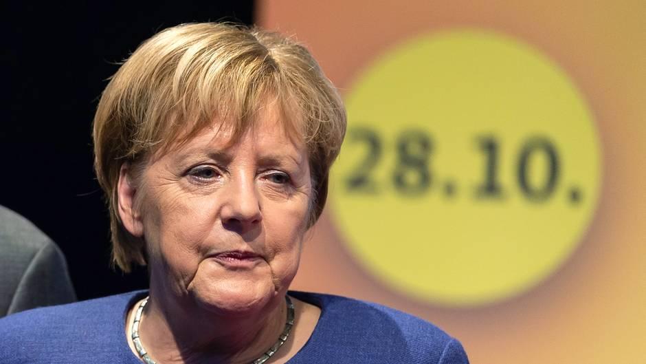 Was will Angela Merkel damit sagen? Ein ungelenker Satz der Kanzlerin sorgt für Spekulationen