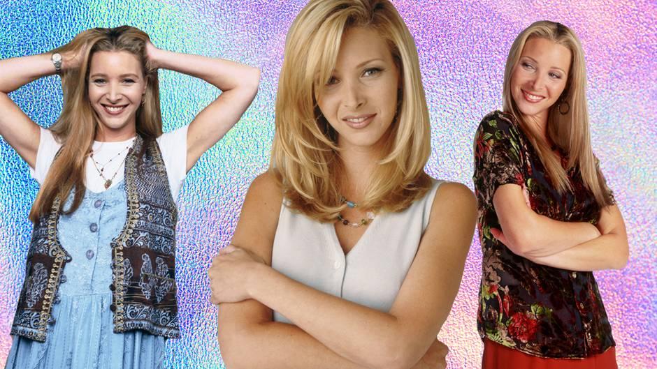 "Lisa Kudrow als Phoebe in ""Friends"""