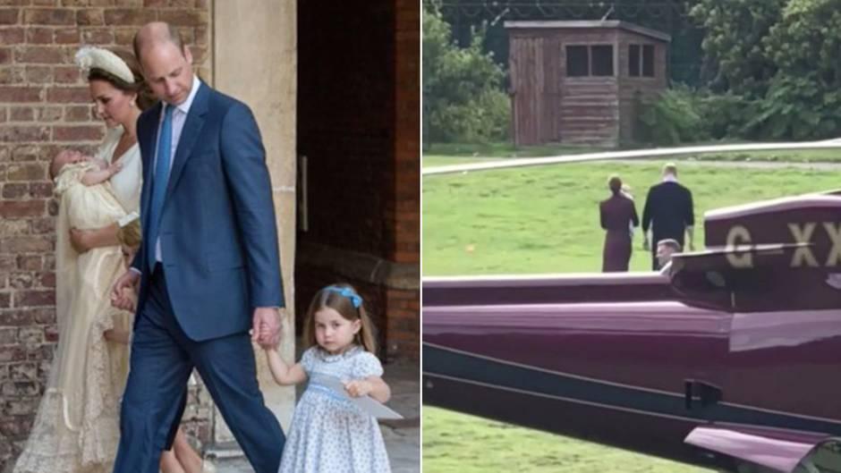 Kate und William: Video aus dem Palastgarten aufgetaucht: So groß ist Baby Prinz Louis schon