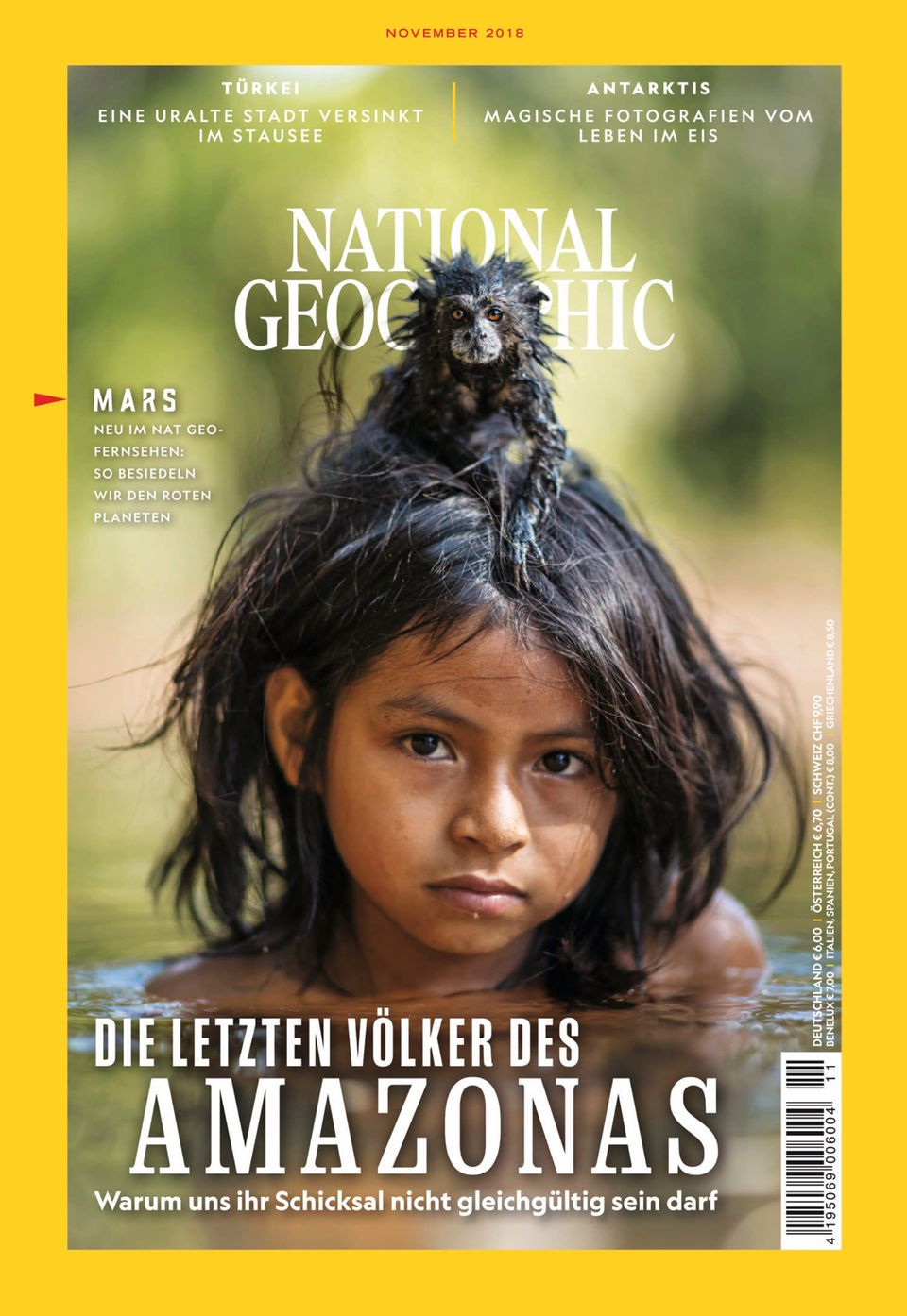 """Lesen Sie mehr zum Thema """"Essen der Zukunft"""" und weitere spannende Geschichte in der aktuellen November-Ausgabe der National Geographic"""