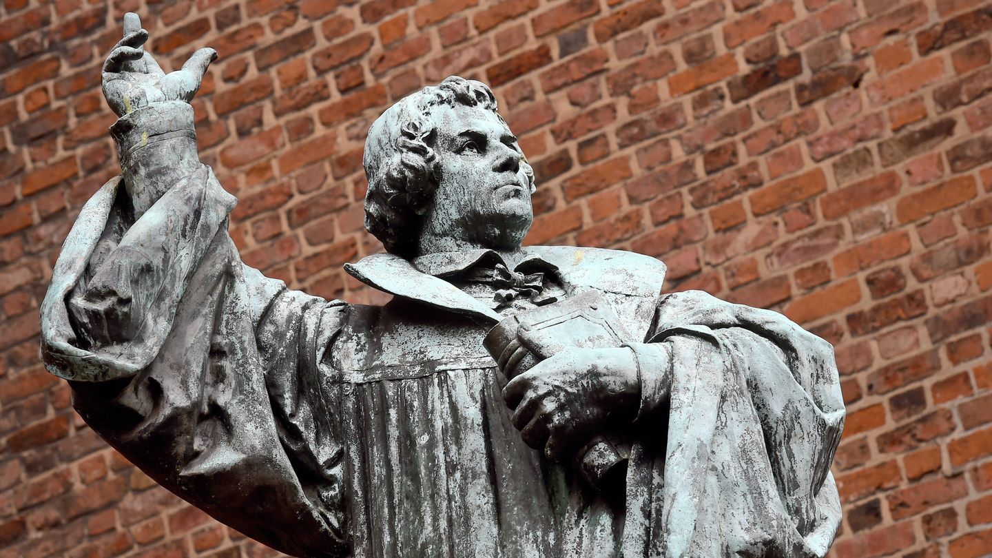 Reformationstag: Martin Luther-Statue