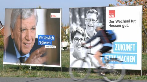 Hessen Wahlplakate