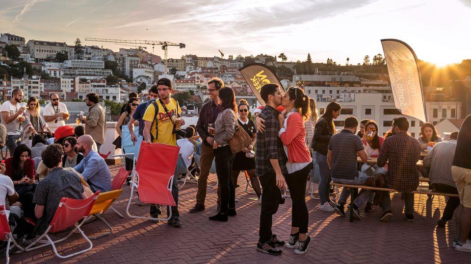 Das junge Lissabon feiert den Spätsommer
