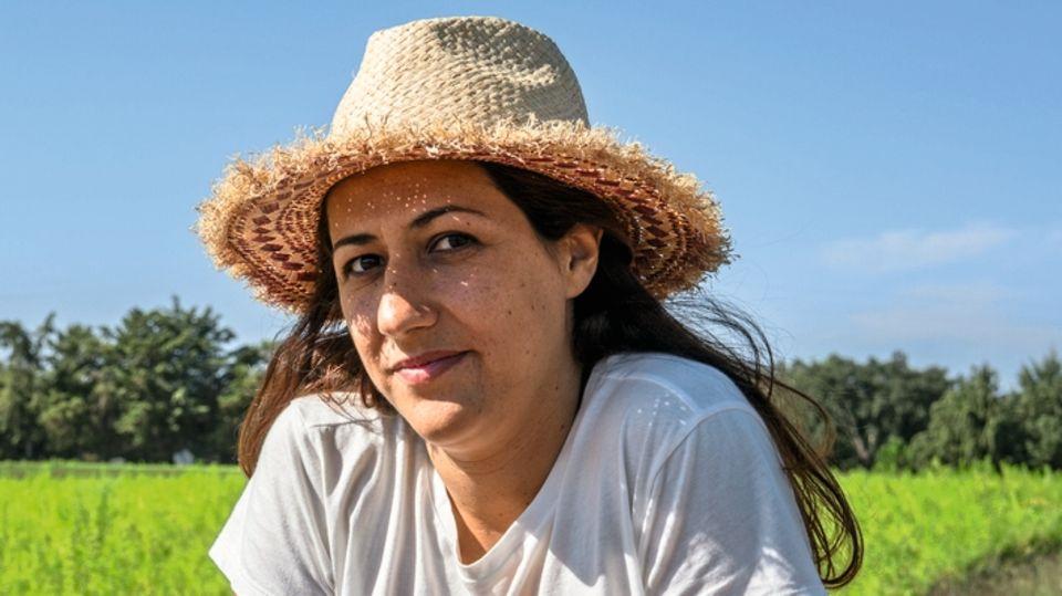 Biolandwirtin Rita Guerreiro auf ihrem Hof in Poceirão