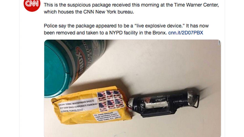 Paketbombe CNN