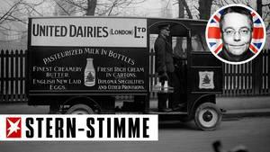 Milchmann in Großbritannien