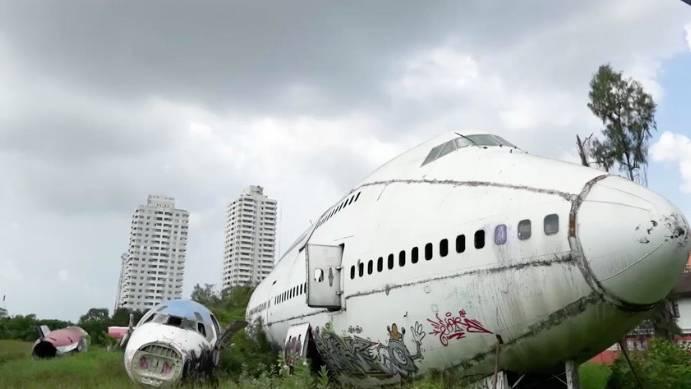 Thailand : Vergessene Orte: Der Flugzeug-Friedhof inmitten der Metropole