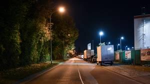 In diesem Freiburger Gewerbegebiet soll die Gruppenvergewaltigung stattgefunden haben