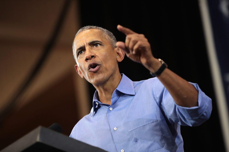 Barack Obama rechnet Trump vor, was er von seiner Präsidentschaft hält