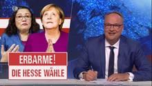 Für Angela Merkel und Andrea Nahles könnte die Hessenwahl zur Schicksalswahl werden