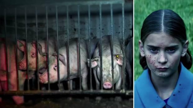 "Peta macht aus ""Old MacDonalds Farm"" eine blutige Horror-Show"