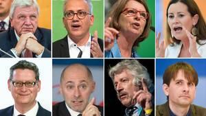 Die Spitzenkandidaten für die Landtagswahl Hessen