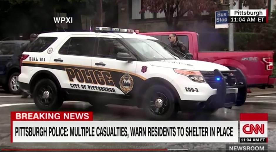 Tote nach Schüssen an Synagoge in Pittsburgh