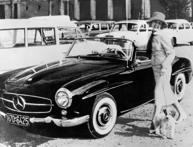 Der ganze Stolz des Wirtschaftswunders: Ein Mercedes 190.