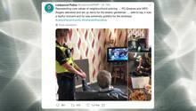 Twitter: Polizei hilft Witwer