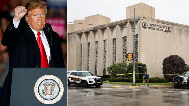 Pittsburgh: Nach Angriff auf US-Synagoge mit 11 Toten: Trump spricht von Todesstrafe