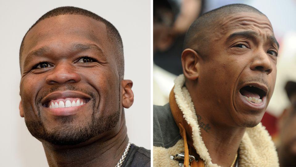 50 Cent und Ja Rule haben schon seit fast 20 Jahren Streit