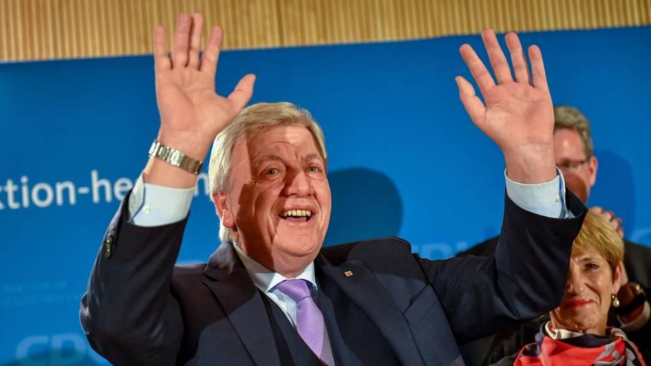 Hessens Ministerpräsidetn Volker Bouffier