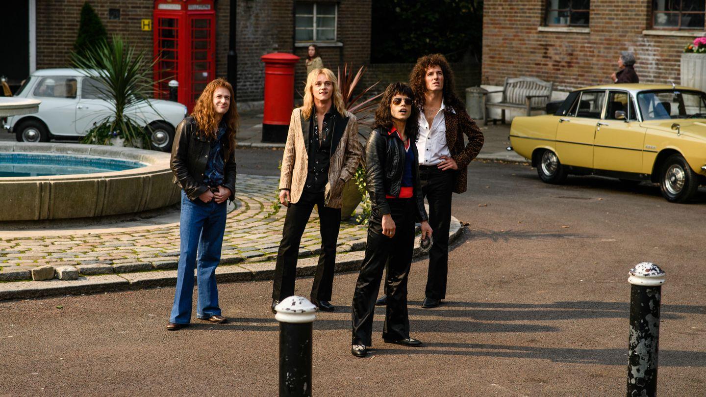 "Szene aus dem Queen-Biopic ""Bohemian Rhapsody"""