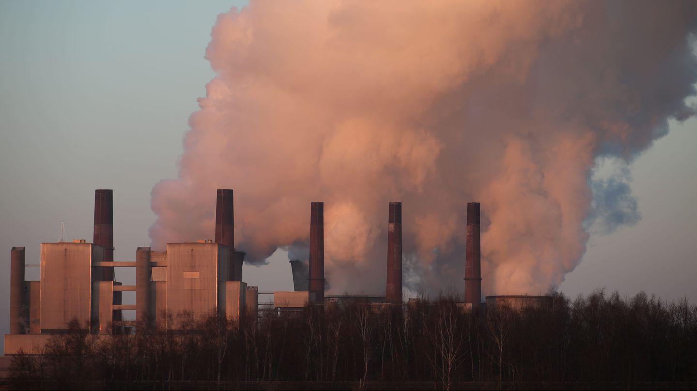 Luftverschmutzung: Braunkohlekraftwerk Neurath bei Grevenbroich