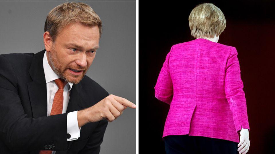 Lindner gegen Merkel