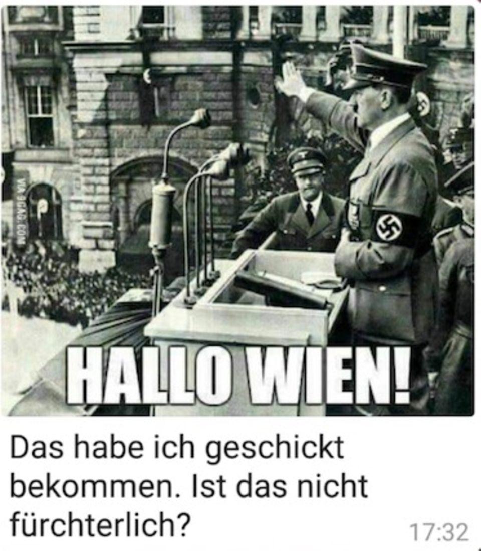 Bundestag: AfD-Abgeordneter verschickt per Whatsapp Hitlerbildchen und Hakenkreuzfotos