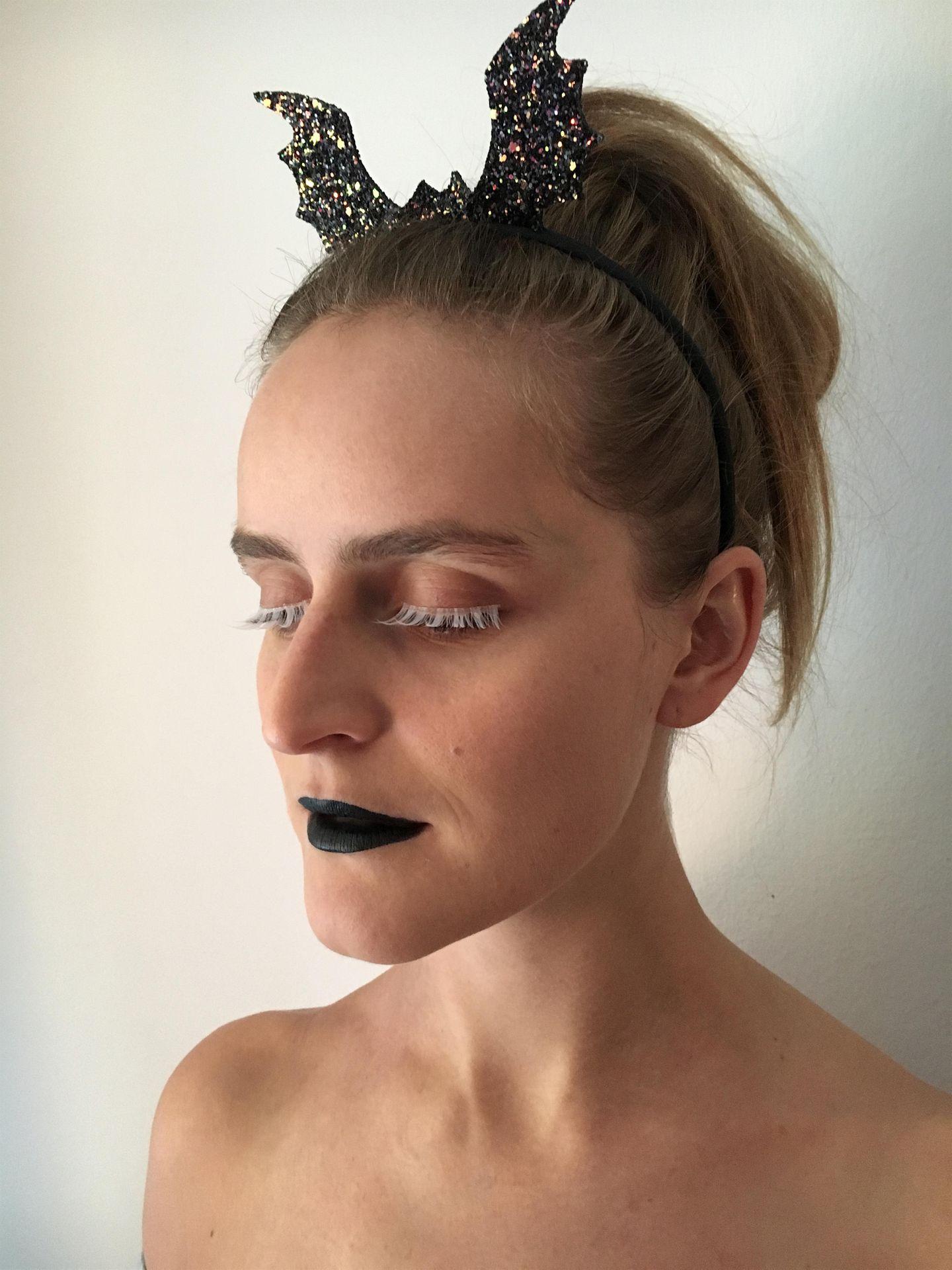 Spontantes Halloween-Make-Up