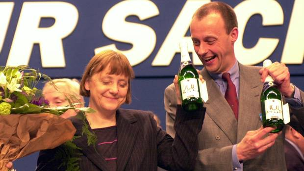 CDU-Wechsel - Merkels Rückzug bringt auch AfD in Sachsen in Zugzwang