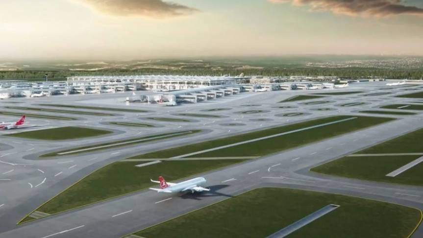 Gigantisches Bauvorhaben: Animation zeigt: So soll Istanbuls neuer Flughafen aussehen
