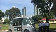 Navya Shuttlebus Elektrisch