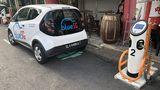 Blue SG Elektroauto Carsharing