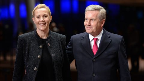 Christian und Bettina Wulff