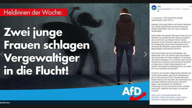 Der AfD-Facebook-Post vom 29.10.2018