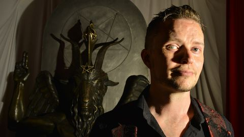 """Lucien Greaves von """"The Satanic Temple"""""""