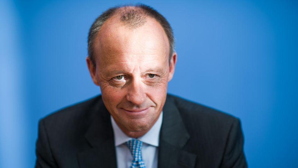 CDU-Mann Friedrich Merz schickt sich an, die Nachfolge Angela Merkels anzutreten