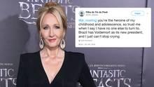 """Hilferufe an """"Harry Potter""""-Autorin J.K. Rowling nach Brasilien-Wahl"""