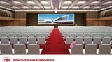 So soll der Starstream Ballroom aussehen: Ein Teil des Gebäudes vonSaarinensteht für Kongresse zur Verfügung.