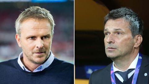Dietmar Hamann (l.) und Christian Heidel beharken sich verbal